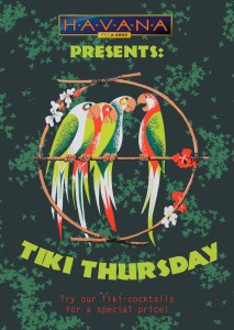 Kaart Tiki-Thursday